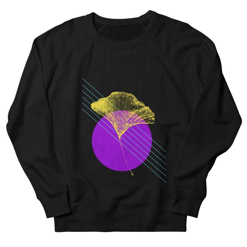 Ginkgo Leaf #2 Women's French Terry Sweatshirt by LadyBaigStudio's Artist Shop