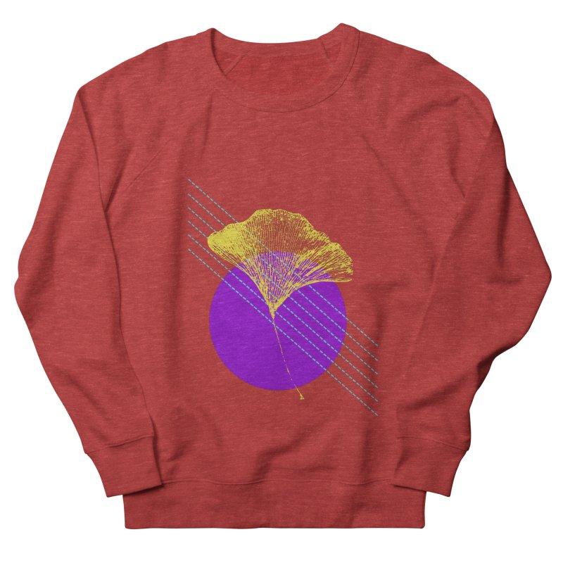 Ginkgo Leaf #2 Men's French Terry Sweatshirt by LadyBaigStudio's Artist Shop