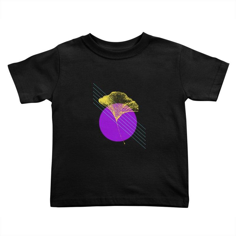 Ginkgo Leaf #2 Kids Toddler T-Shirt by LadyBaigStudio's Artist Shop