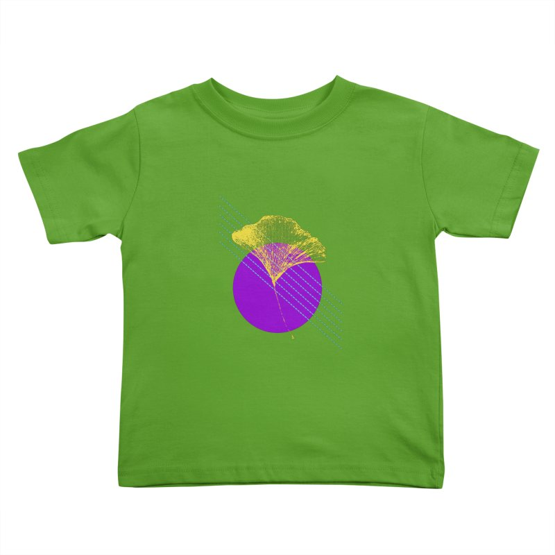 Ginkgo Leaf #2 Kids Toddler T-Shirt by LadyBaigStudio's Artist Shop