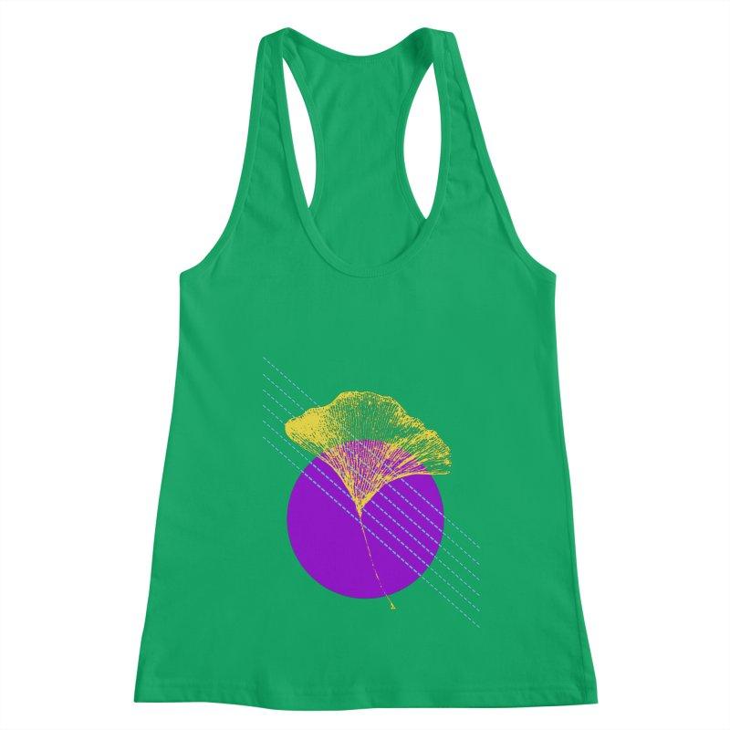 Ginkgo Leaf #2 Women's Tank by LadyBaigStudio's Artist Shop