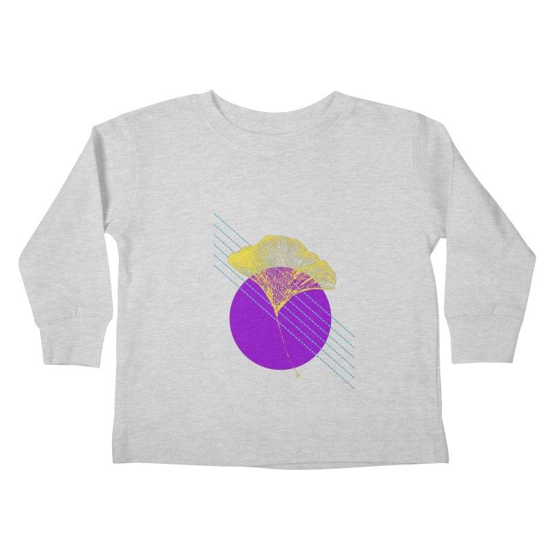 Ginkgo Leaf #2 Kids Toddler Longsleeve T-Shirt by LadyBaigStudio's Artist Shop