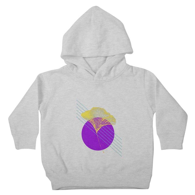 Ginkgo Leaf #2 Kids Toddler Pullover Hoody by LadyBaigStudio's Artist Shop