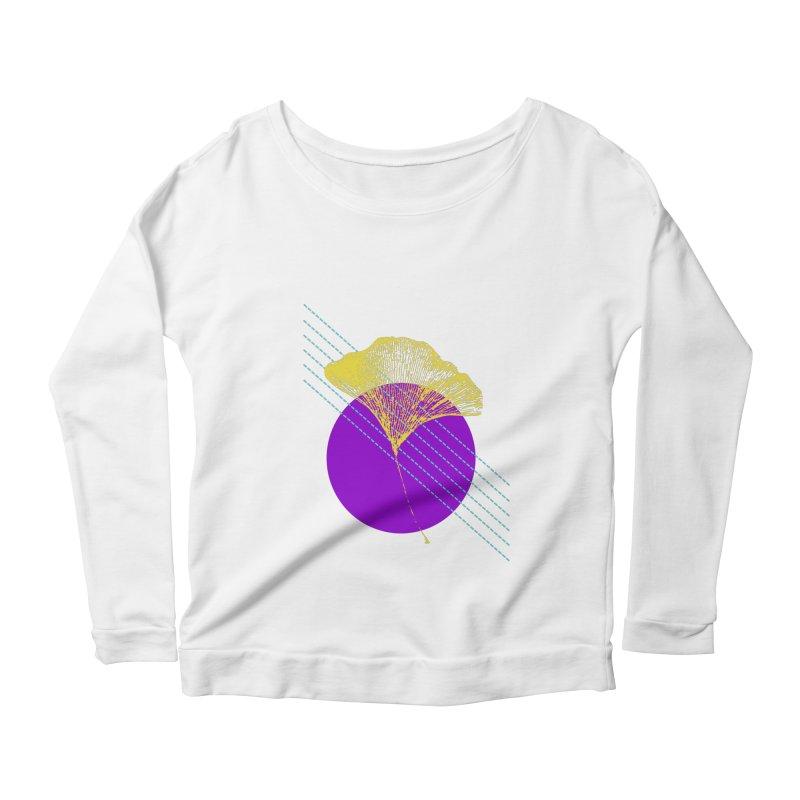 Ginkgo Leaf #2 Women's Longsleeve T-Shirt by LadyBaigStudio's Artist Shop