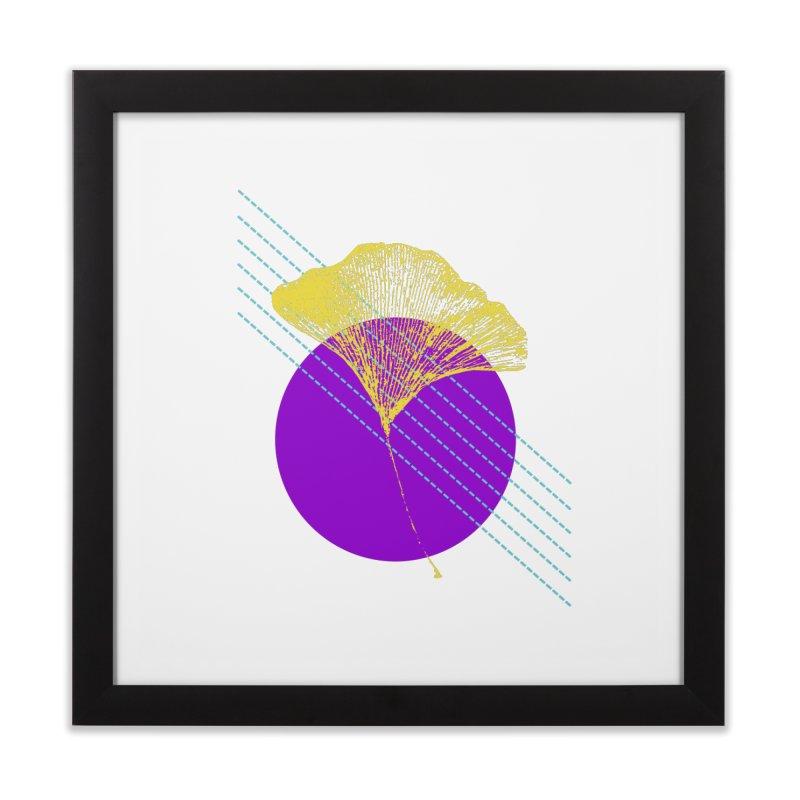 Ginkgo Leaf #2 Home Framed Fine Art Print by LadyBaigStudio's Artist Shop