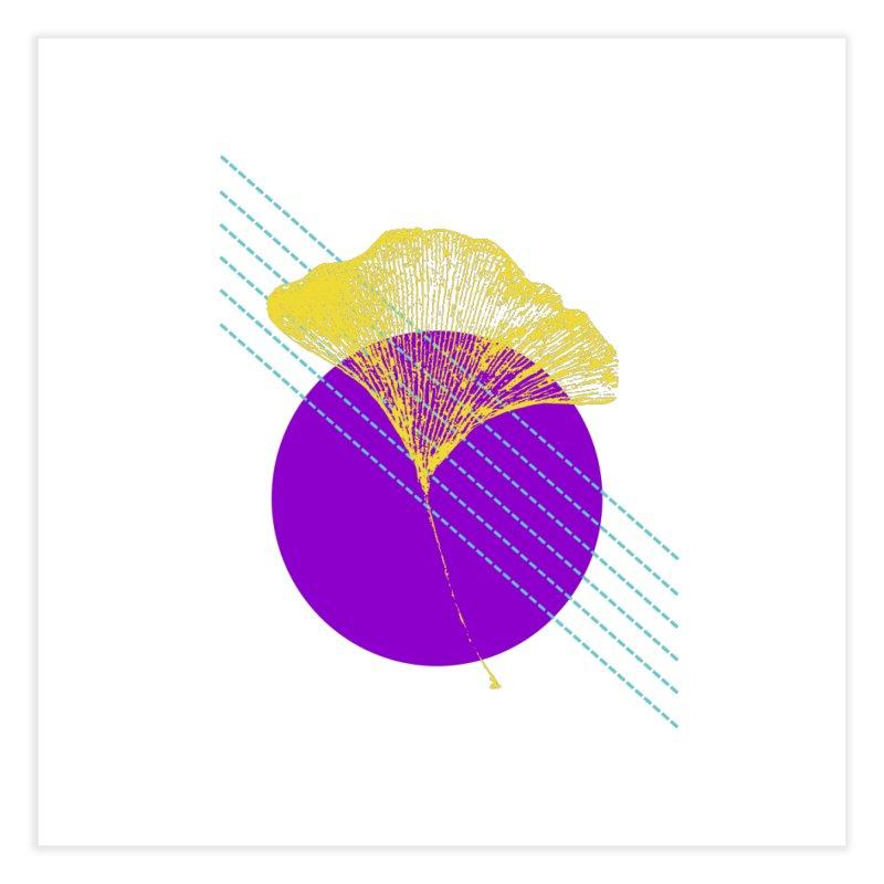 Ginkgo Leaf #2 Home Fine Art Print by LadyBaigStudio's Artist Shop