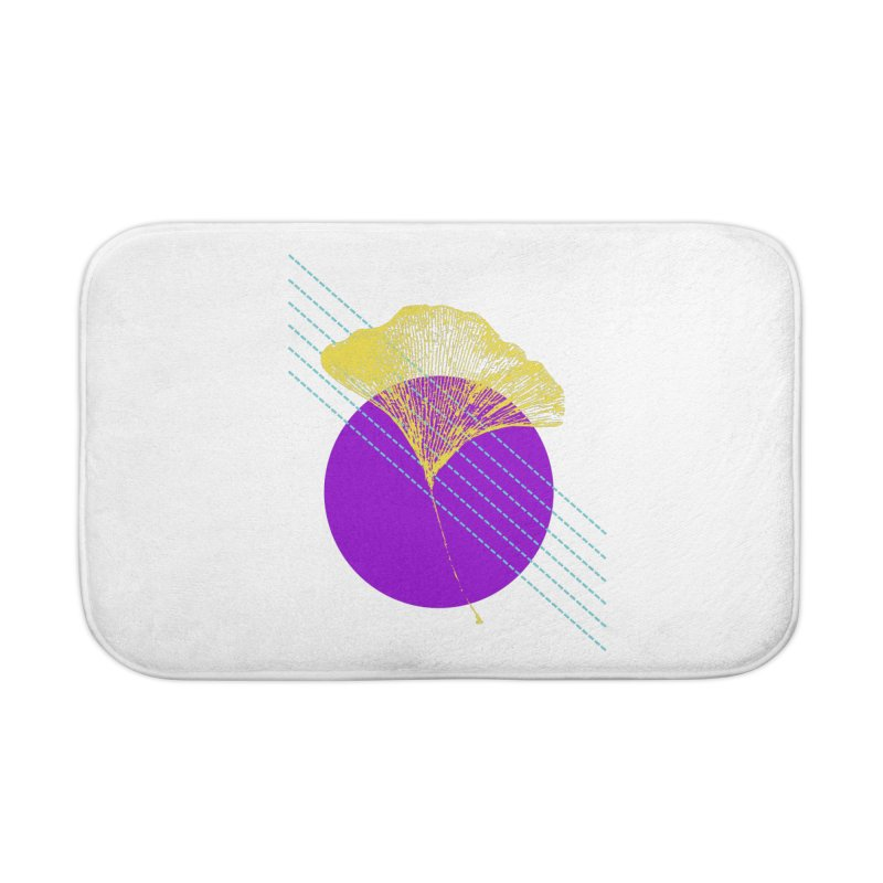 Ginkgo Leaf #2 Home Bath Mat by LadyBaigStudio's Artist Shop