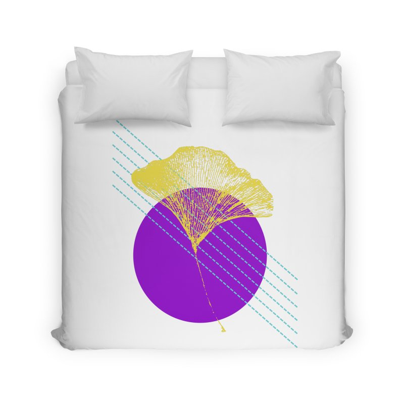 Ginkgo Leaf #2 Home Duvet by LadyBaigStudio's Artist Shop