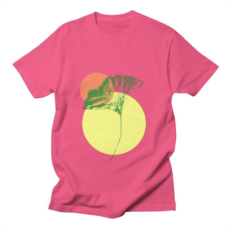 Ginkgo Leaf #3 Men's T-Shirt by LadyBaigStudio's Artist Shop