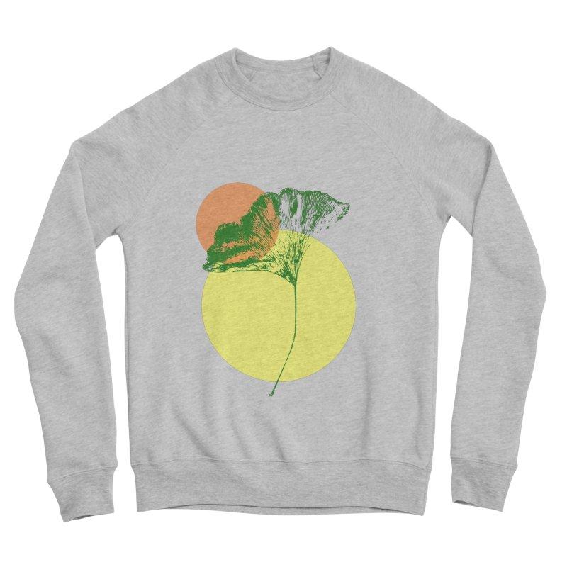 Ginkgo Leaf #3 Women's Sponge Fleece Sweatshirt by LadyBaigStudio's Artist Shop