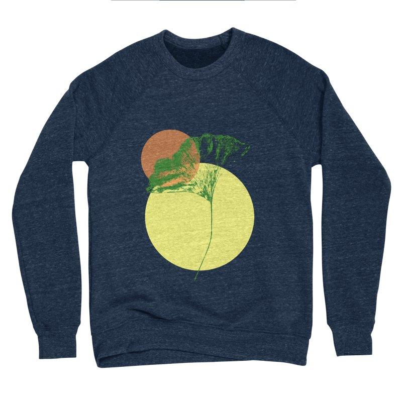 Ginkgo Leaf #3 Men's Sponge Fleece Sweatshirt by LadyBaigStudio's Artist Shop