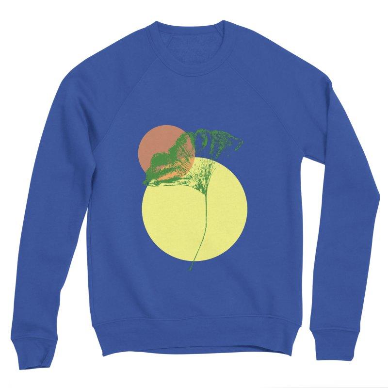 Ginkgo Leaf #3 Men's Sweatshirt by LadyBaigStudio's Artist Shop