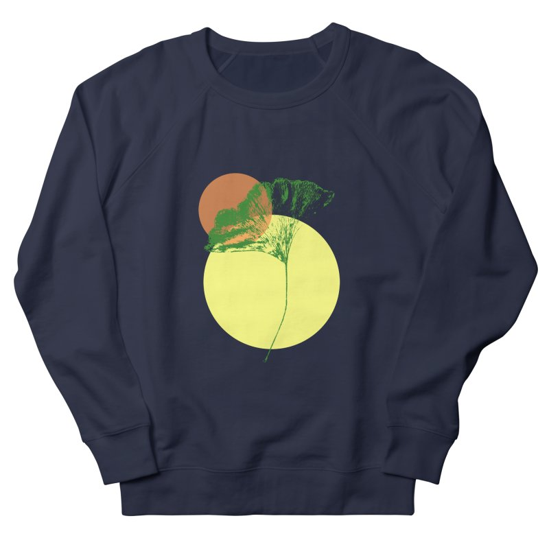 Ginkgo Leaf #3 Men's French Terry Sweatshirt by LadyBaigStudio's Artist Shop