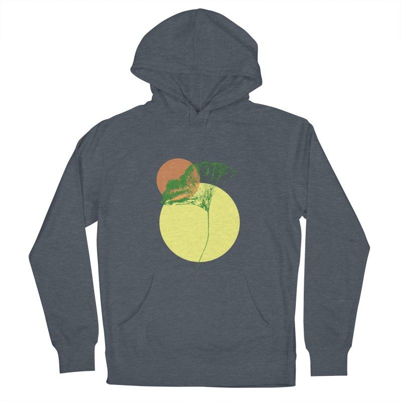 Ginkgo Leaf #3 Men's Pullover Hoody by LadyBaigStudio's Artist Shop