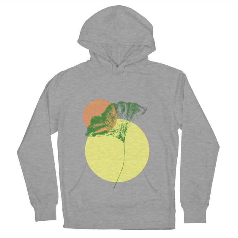 Ginkgo Leaf #3 Women's Pullover Hoody by LadyBaigStudio's Artist Shop