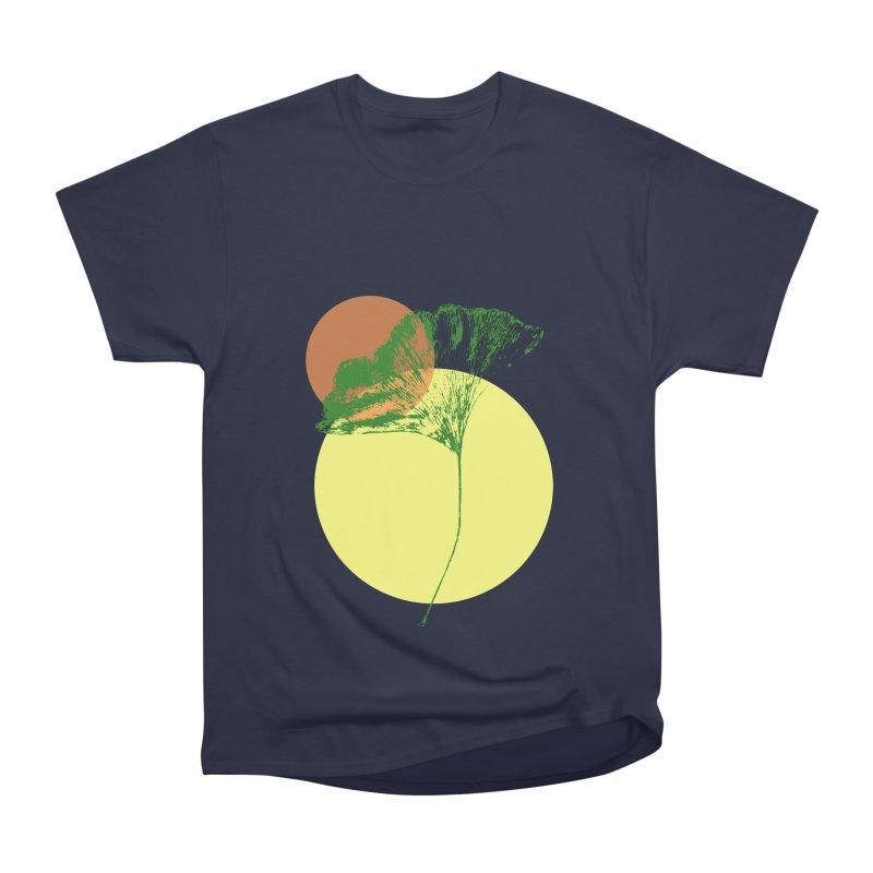 Ginkgo Leaf #3 Women's Heavyweight Unisex T-Shirt by LadyBaigStudio's Artist Shop
