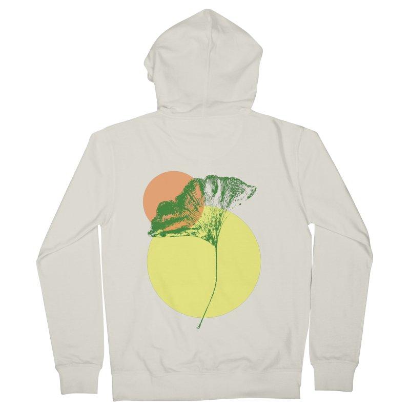 Ginkgo Leaf #3 Women's Zip-Up Hoody by LadyBaigStudio's Artist Shop