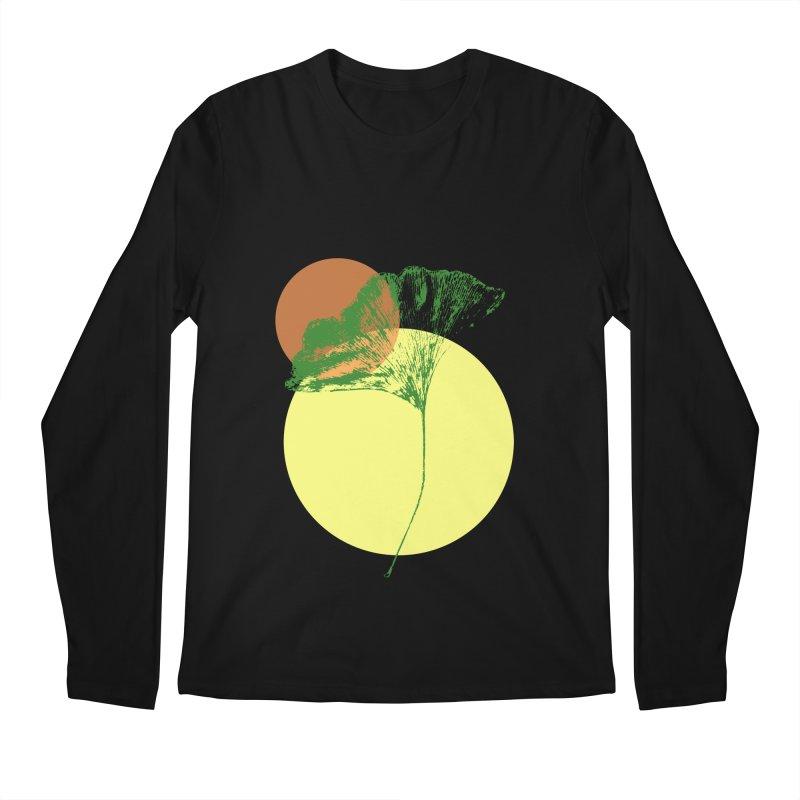 Ginkgo Leaf #3 Men's Regular Longsleeve T-Shirt by LadyBaigStudio's Artist Shop