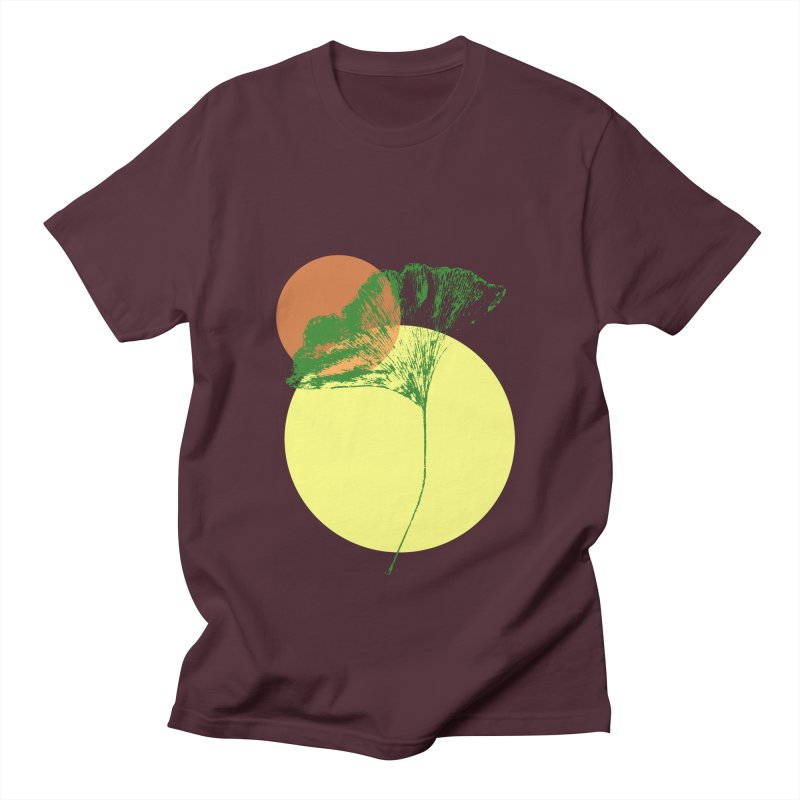 Ginkgo Leaf #3 Women's Regular Unisex T-Shirt by LadyBaigStudio's Artist Shop