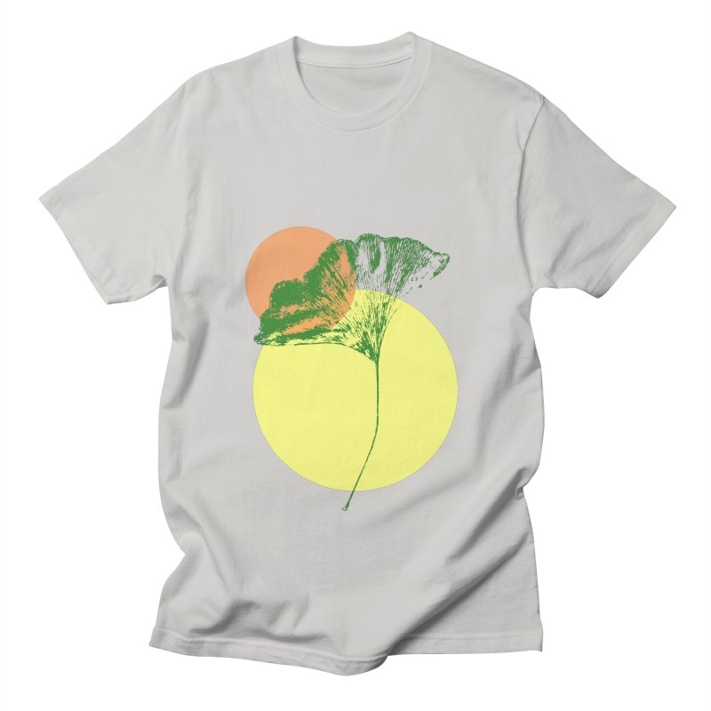 Ginkgo Leaf #3 Women's T-Shirt by LadyBaigStudio's Artist Shop