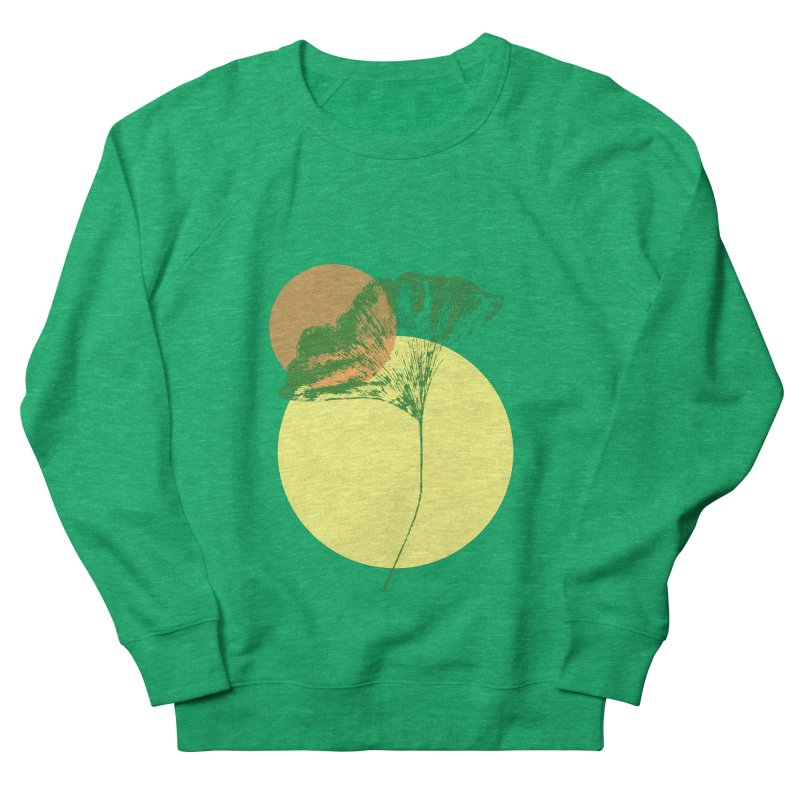 Ginkgo Leaf #3 Women's Sweatshirt by LadyBaigStudio's Artist Shop