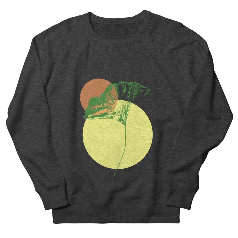 Ginkgo Leaf #3 Women's French Terry Sweatshirt by LadyBaigStudio's Artist Shop