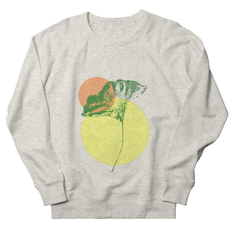 Ginkgo Leaf #3 Men's French Terry Sweatshirt by LadyBaigStudio's Artist Shop