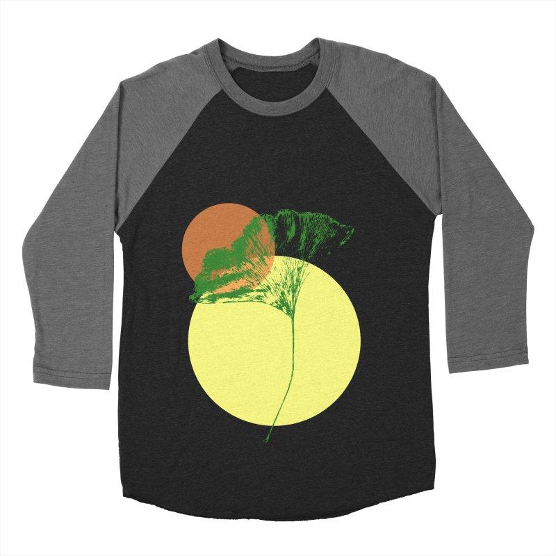Ginkgo Leaf #3 Women's Baseball Triblend Longsleeve T-Shirt by LadyBaigStudio's Artist Shop