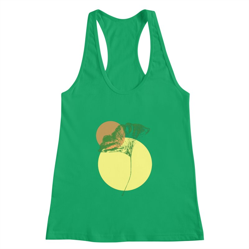 Ginkgo Leaf #3 Women's Tank by LadyBaigStudio's Artist Shop