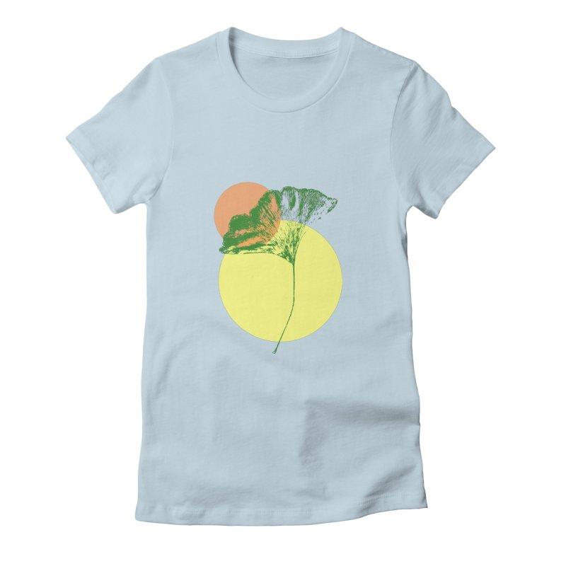 Ginkgo Leaf #3 Women's T-Shirt by LadyBaigStudio's Artist Shop