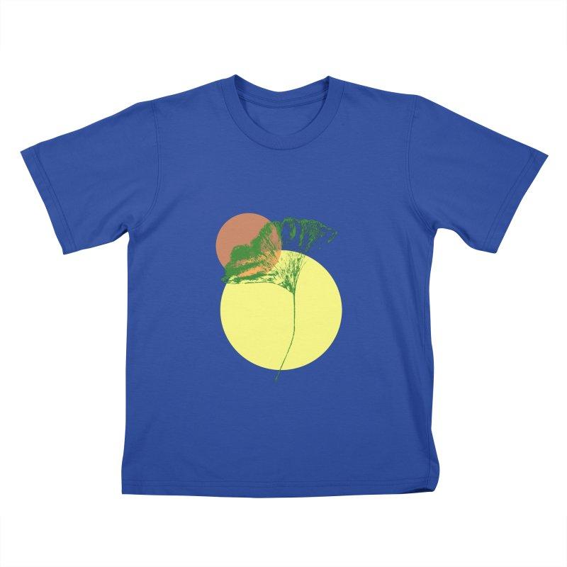 Ginkgo Leaf #3 Kids T-Shirt by LadyBaigStudio's Artist Shop