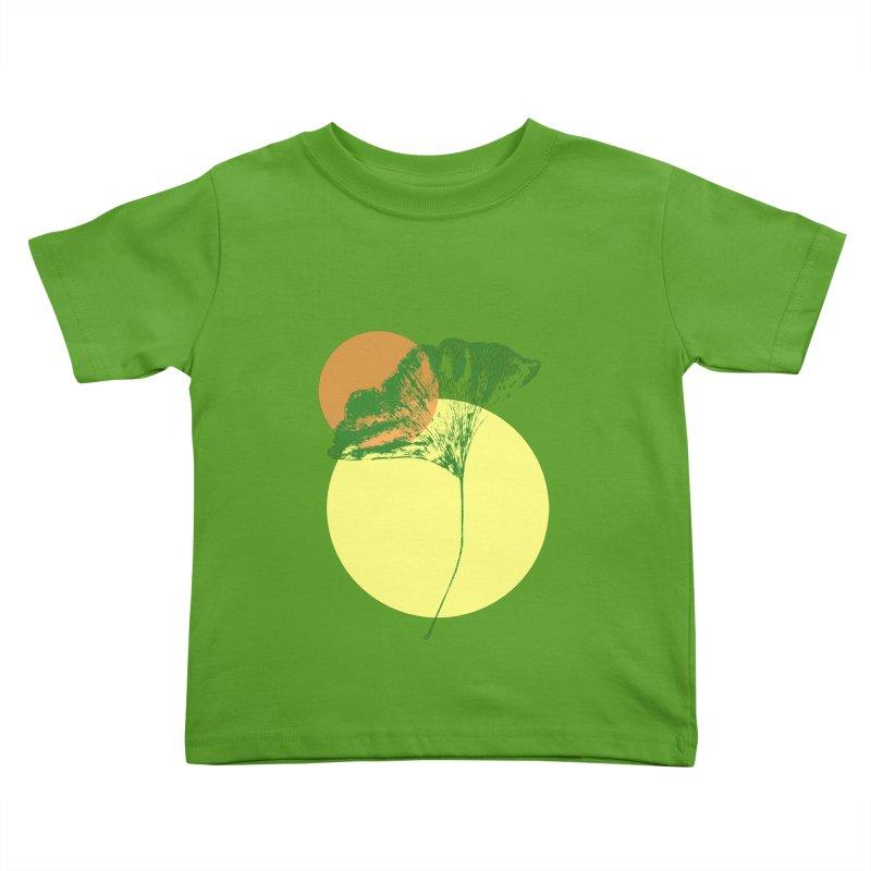 Ginkgo Leaf #3 Kids Toddler T-Shirt by LadyBaigStudio's Artist Shop