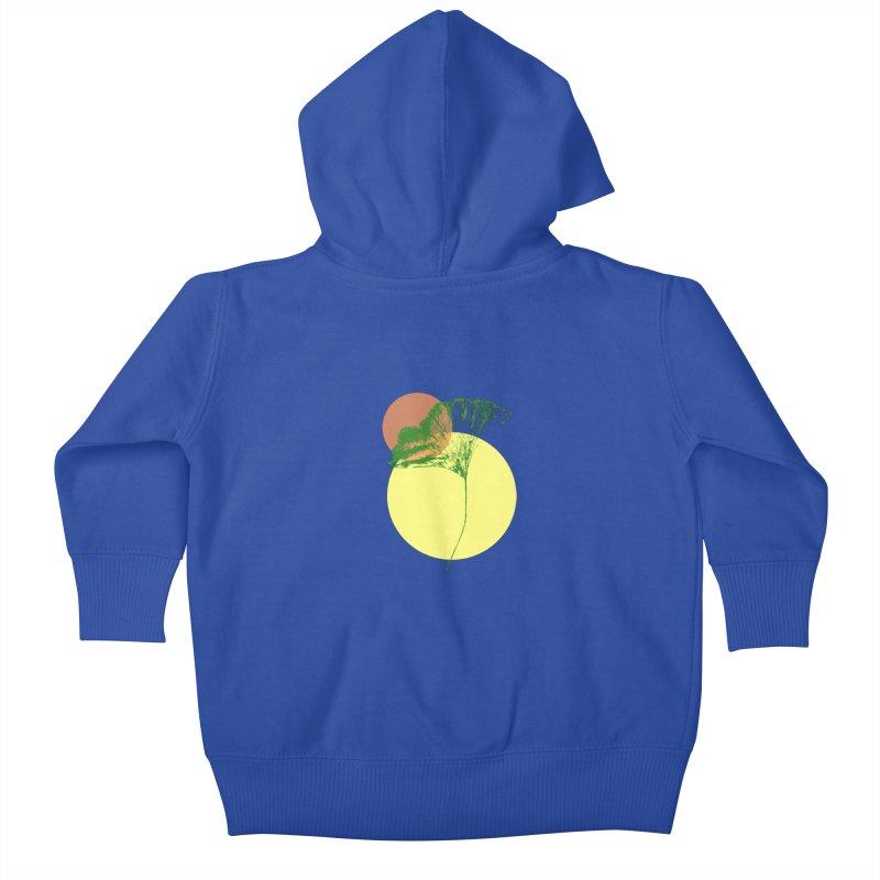 Ginkgo Leaf #3 Kids Baby Zip-Up Hoody by LadyBaigStudio's Artist Shop