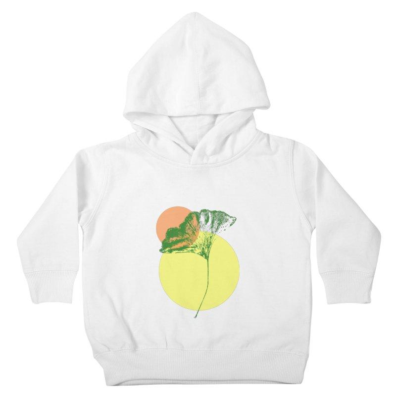 Ginkgo Leaf #3 Kids Toddler Pullover Hoody by LadyBaigStudio's Artist Shop