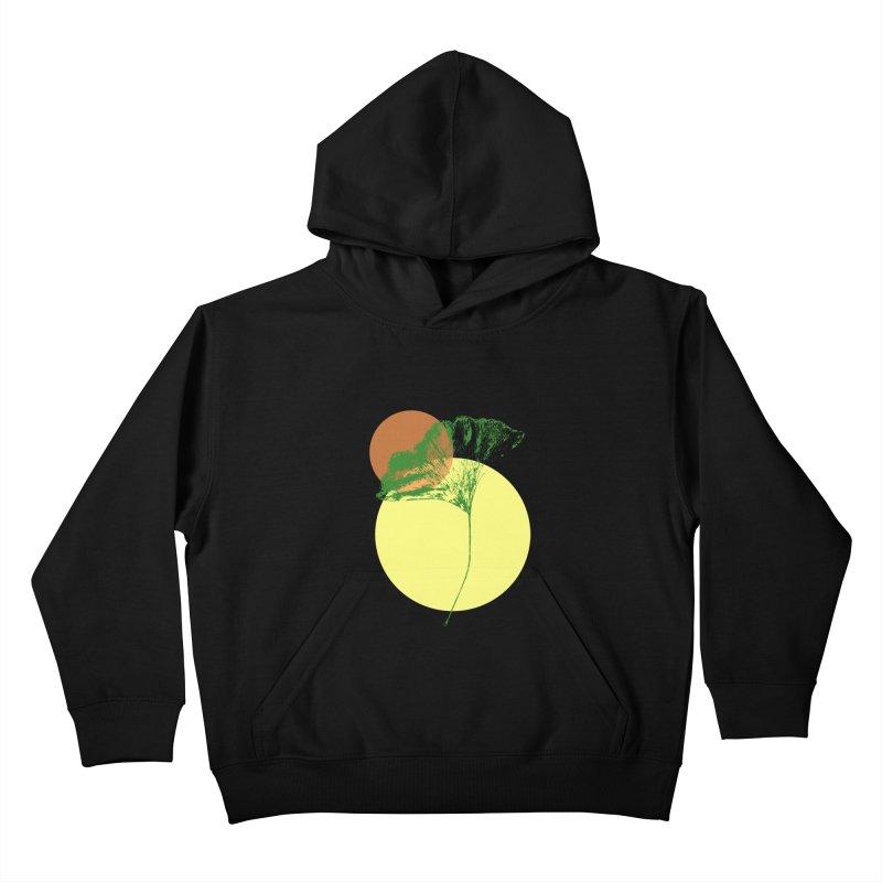 Ginkgo Leaf #3 Kids Pullover Hoody by LadyBaigStudio's Artist Shop