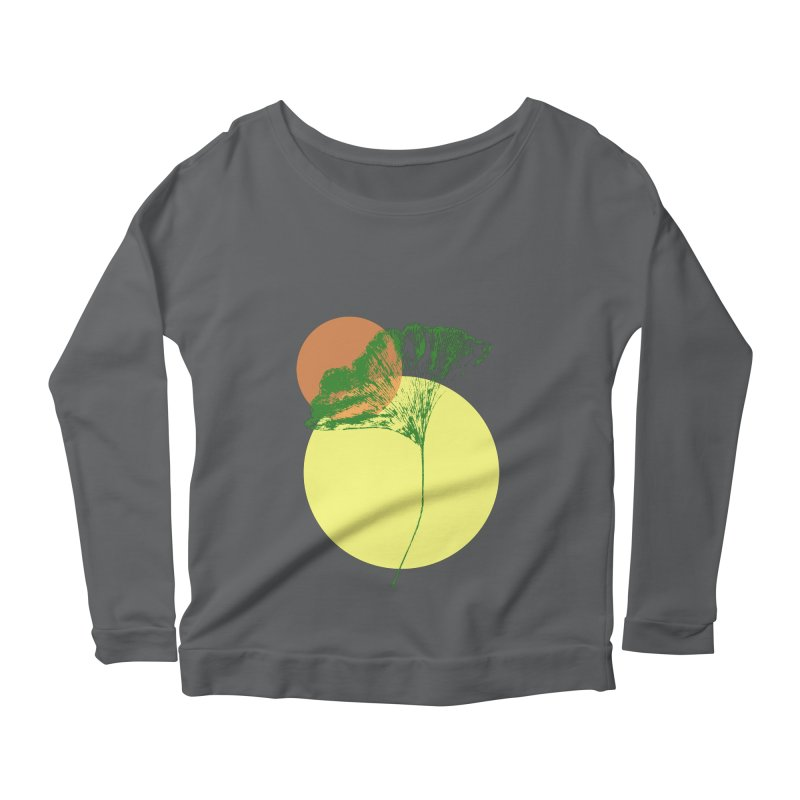 Ginkgo Leaf #3 Women's Longsleeve T-Shirt by LadyBaigStudio's Artist Shop