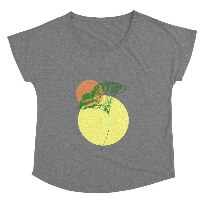 Ginkgo Leaf #3 Women's Scoop Neck by LadyBaigStudio's Artist Shop