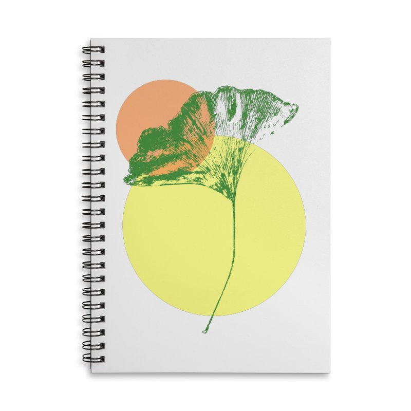 Ginkgo Leaf #3 Accessories Notebook by LadyBaigStudio's Artist Shop