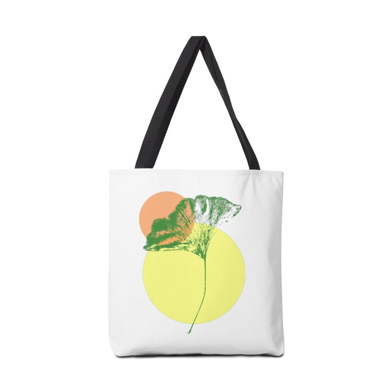 Ginkgo Leaf #3 Accessories Tote Bag Bag by LadyBaigStudio's Artist Shop
