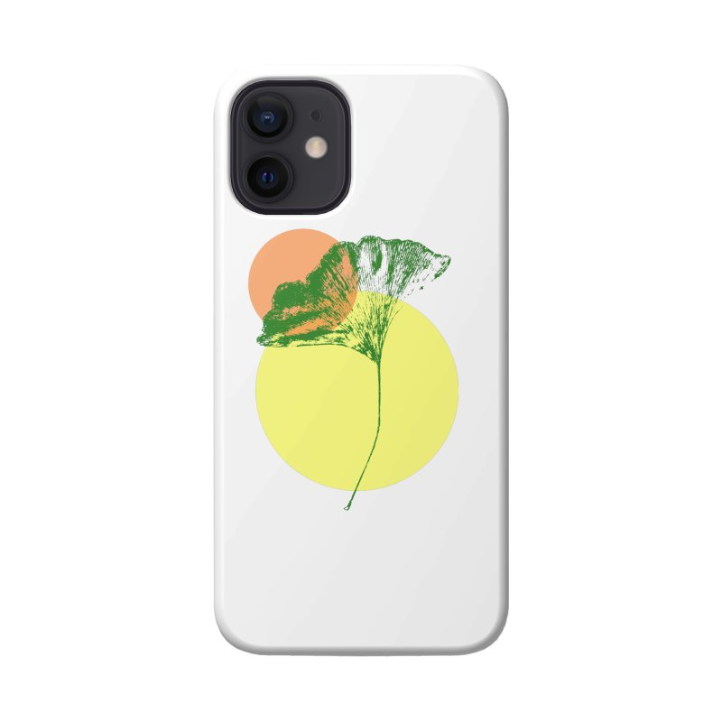 Ginkgo Leaf #3 Accessories Phone Case by LadyBaigStudio's Artist Shop