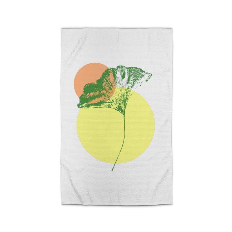 Ginkgo Leaf #3 Home Rug by LadyBaigStudio's Artist Shop