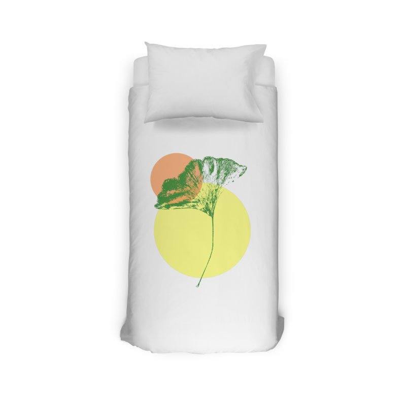 Ginkgo Leaf #3 Home Duvet by LadyBaigStudio's Artist Shop