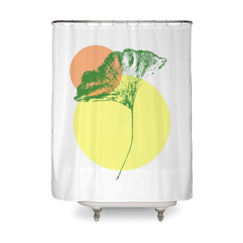 Ginkgo Leaf #3 Home Shower Curtain by LadyBaigStudio's Artist Shop