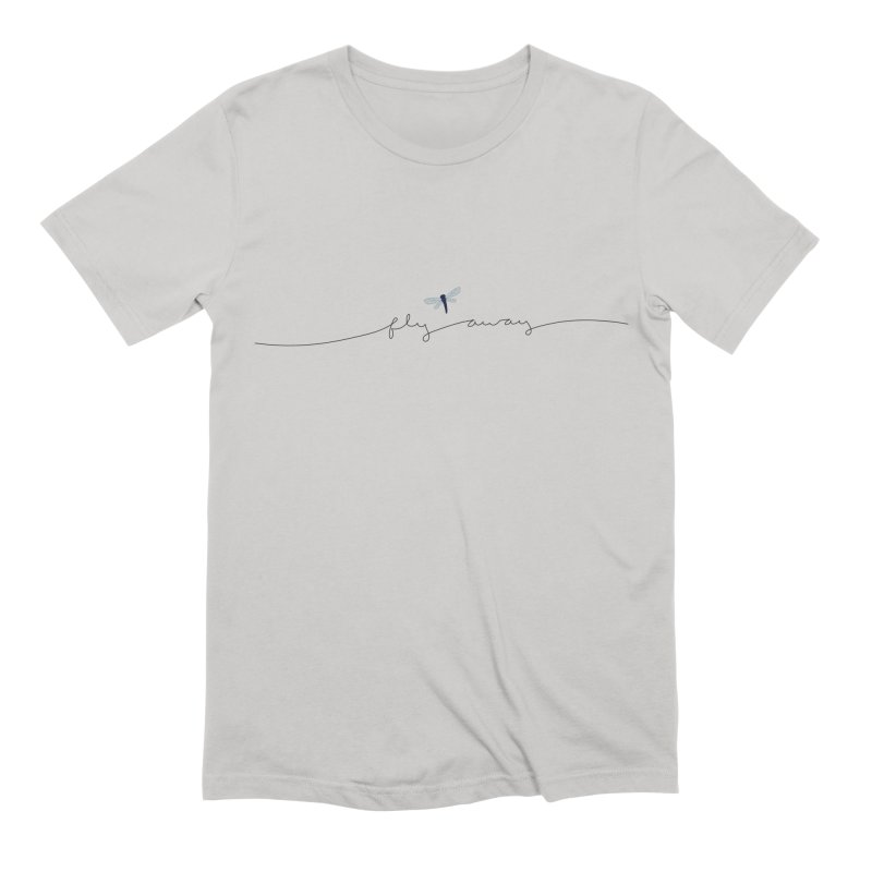 Fly Away Men's T-Shirt by LadyBaigStudio's Artist Shop
