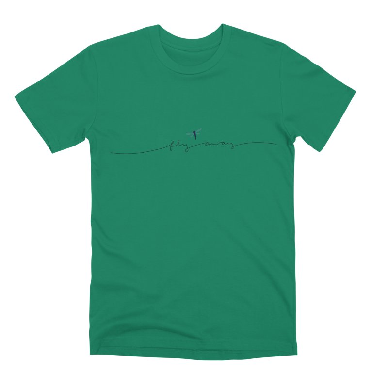 Fly Away Men's Premium T-Shirt by LadyBaigStudio's Artist Shop
