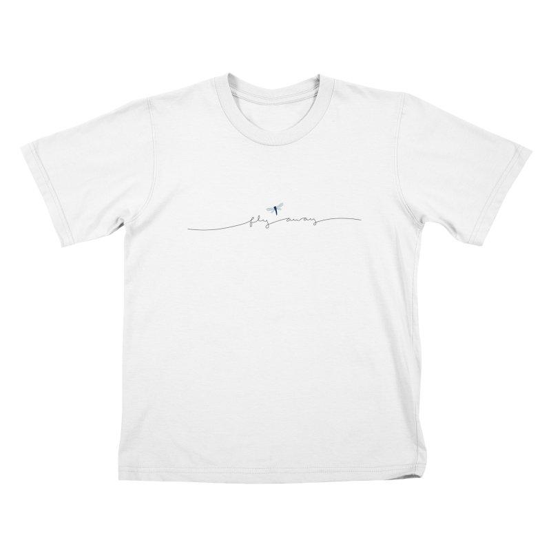 Fly Away Kids T-Shirt by LadyBaigStudio's Artist Shop