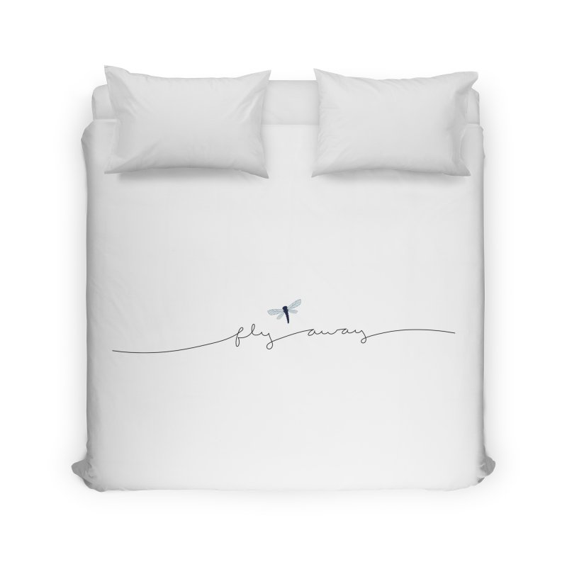 Fly Away Home Duvet by LadyBaigStudio's Artist Shop