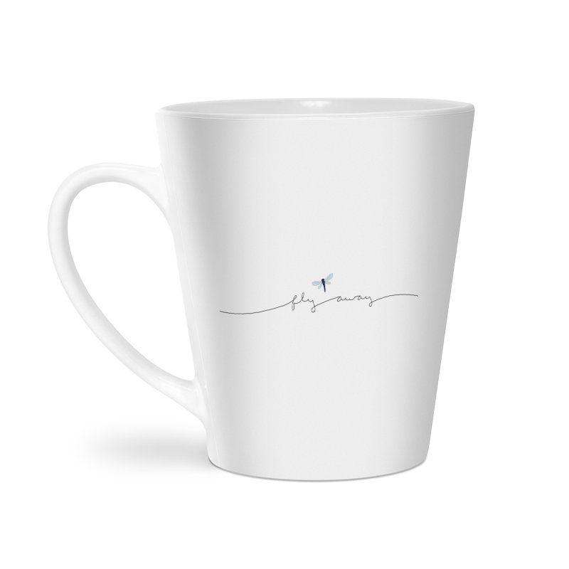 Fly Away Accessories Latte Mug by LadyBaigStudio's Artist Shop