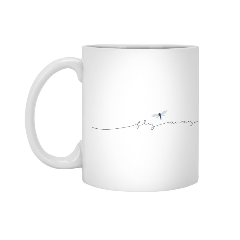 Fly Away Accessories Mug by LadyBaigStudio's Artist Shop