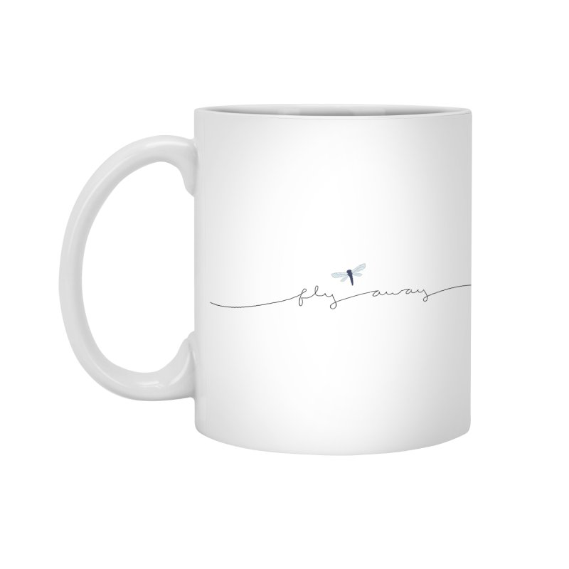 Fly Away Accessories Standard Mug by LadyBaigStudio's Artist Shop